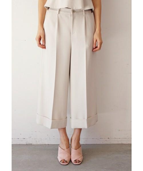 Kalen BANNER BARRETTのDOUBLE CLOTH WIDEPANTS