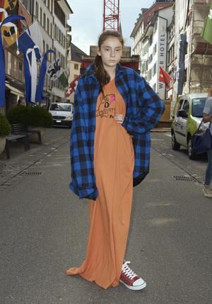 芸能人がInstagramで着用した衣装カーディガン