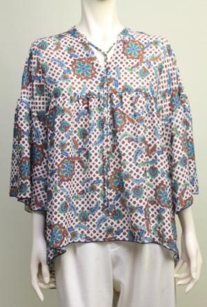 芸能人が旅サラダで着用した衣装シャツ/ブラウス