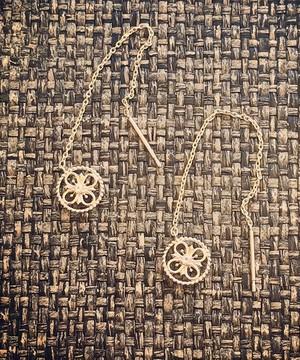 芸能人がミライダネで着用した衣装ピアス(両耳用)