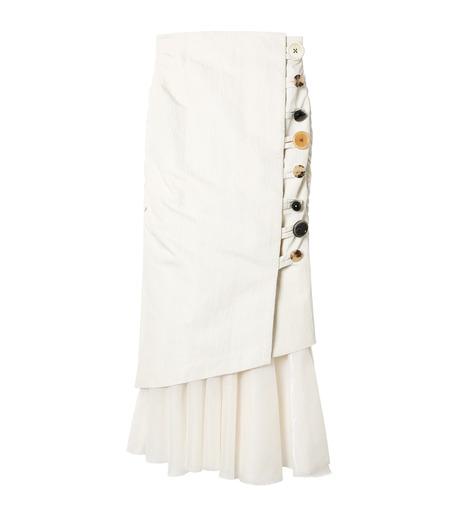 芸能人がバズリズムで着用した衣装スカート