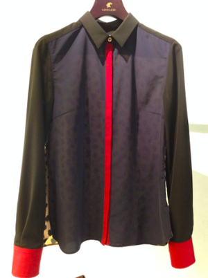 芸能人がネプリーグで着用した衣装ビジューつきシャツ  タータンチェックショートパンツ