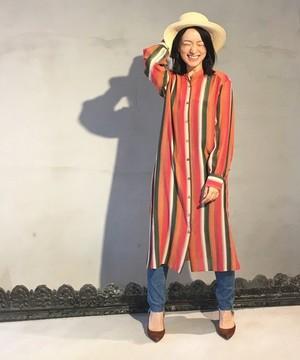 芸能人役柄:バディを組むファッションライターがセシルのもくろみで着用した衣装ワンピース