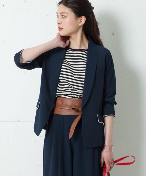 芸能人が愛してたって、秘密はある。で着用した衣装ニット、ジャケット