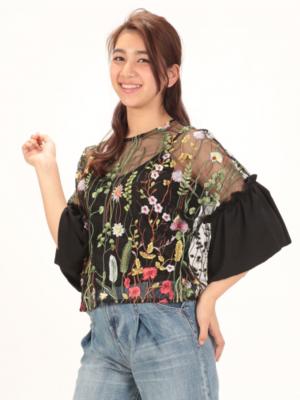 芸能人役柄:新人主婦読モがセシルのもくろみで着用した衣装シャツ/ブラウス