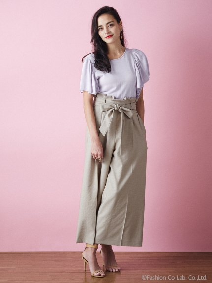 芸能人がPON!で着用した衣装カットソー、パンツ
