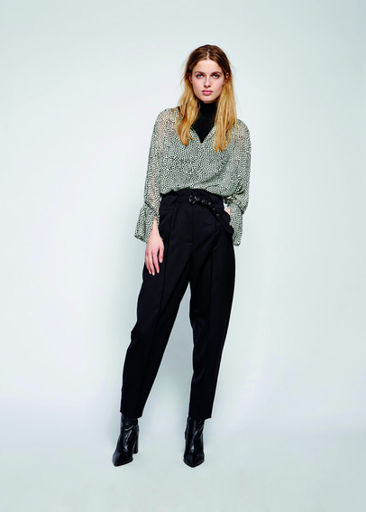 DOROTHEE SCHUMACHERのCOOL AMBITION HIGH WAISTED RELAXED FIT PANTS