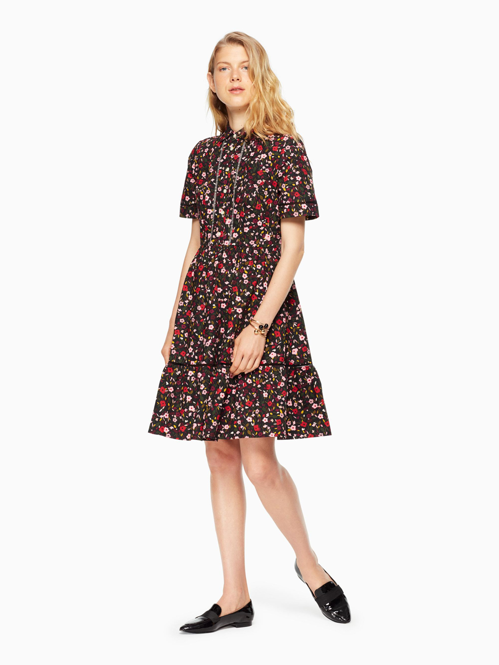 kate spade new yorkのMA CHERIE BOHO FLORAL SHIRTDRESS