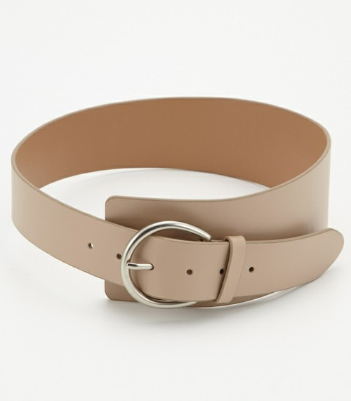 RIM.ARKのCROSSED LEATHER BELT
