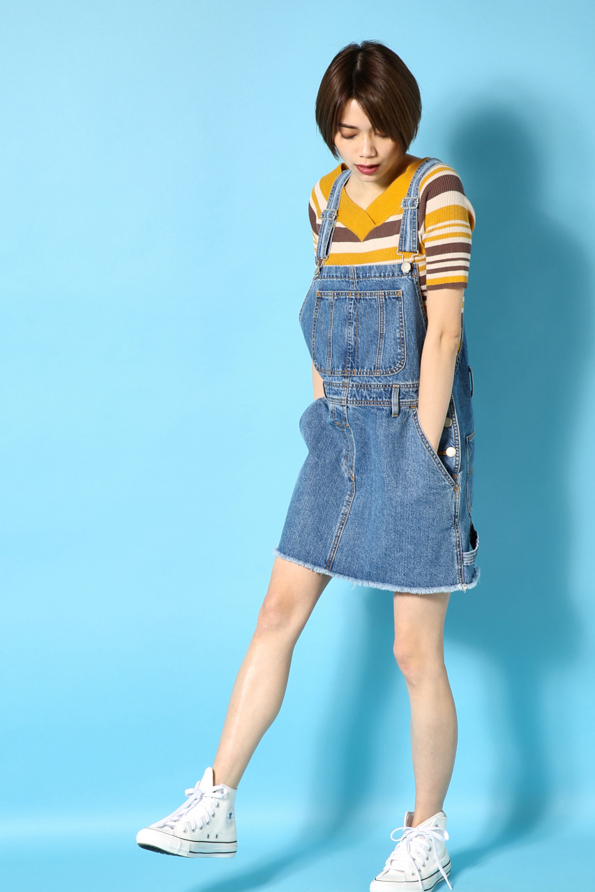 AZUL by moussyのDenimサロペット