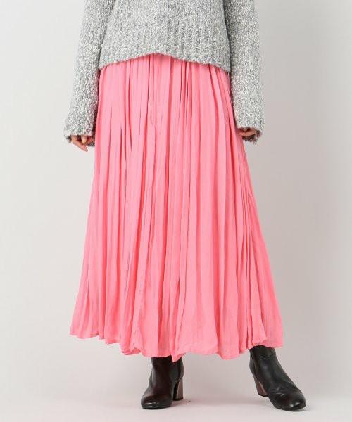 08sircusのSi/Cu dual layered gather skirt:スカート#