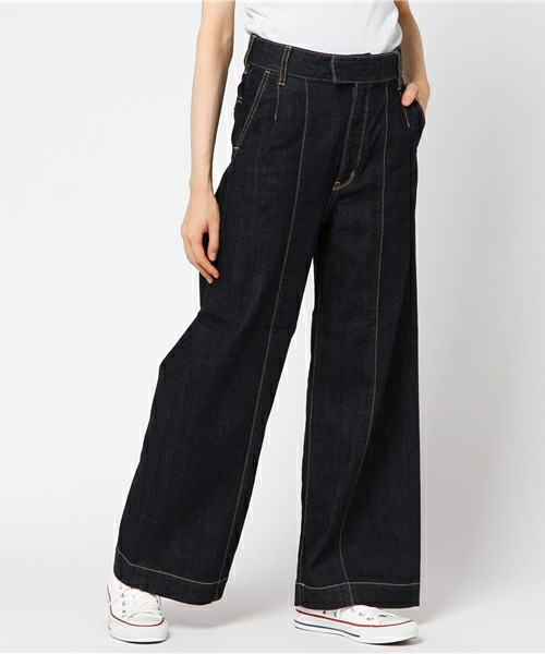 MILKFED.のLACE UP DENIM PANT