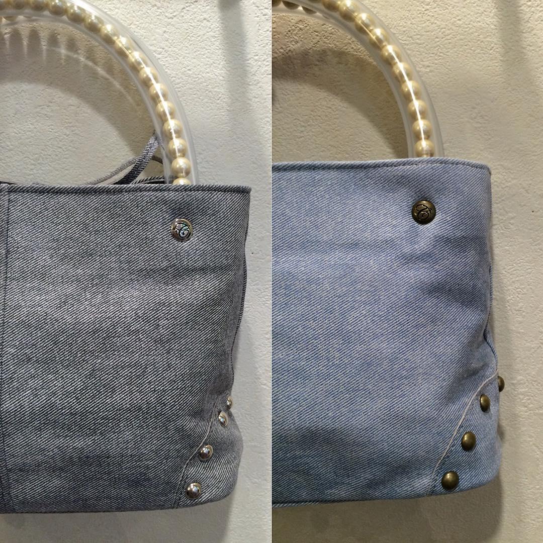 carnetのパールハンドルバッグ