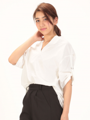 芸能人がJ:COMチャンネル「東京 下町小町」で着用した衣装シャツ / ブラウス