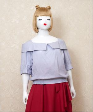 芸能人主役:超ポジティブママがカンナさーん!で着用した衣装ブラウス