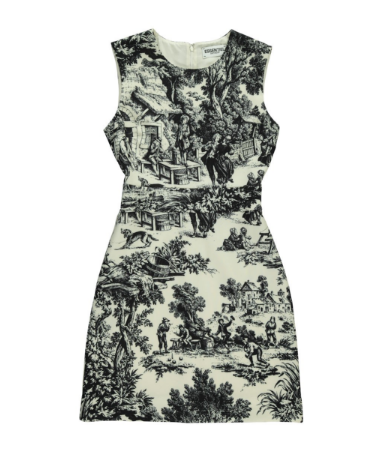 Essentiel AntwerpのSLEEVELESS ROMANTIC PRINT DRESS