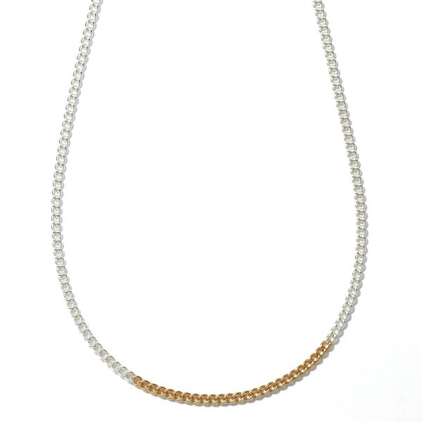 EnasolunaのSilver chain necklace