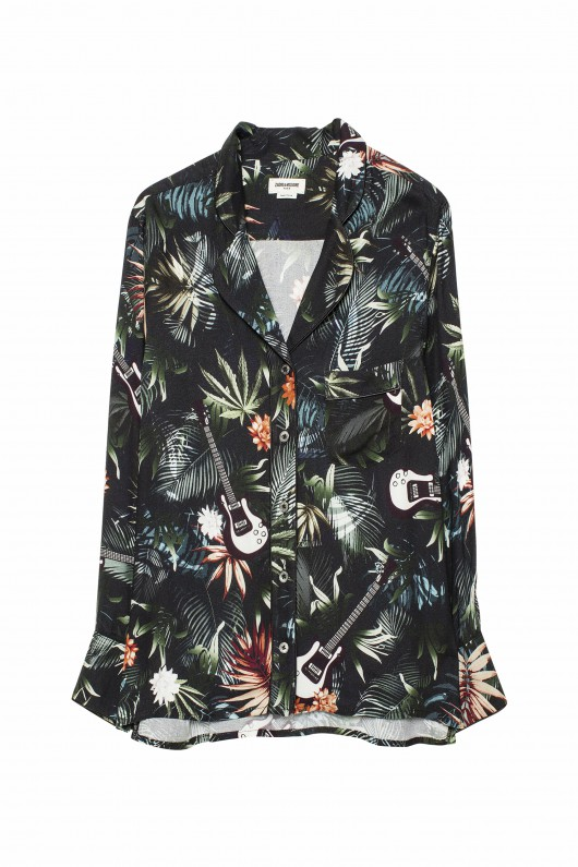 ZADIG&VOLTAIREのTACHA JUNGLE SHIRT