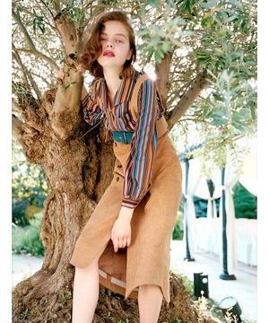 芸能人が雑誌で着用した衣装スカート