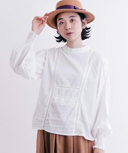 芸能人がメレンゲの気持ちで着用した衣装パンツ、ブラウス