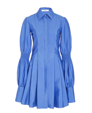 ADEAMのPleated Shirt Dress With Smocking Detail