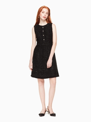kate spade new yorkのSTAR BRIGHT SPARKLE TWEED DRESS