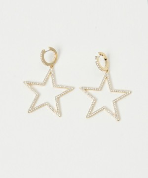 kate spade new yorkのSEEING STARS STAR HOOPS
