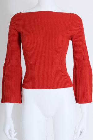 芸能人がビジネスレポートNEOで着用した衣装ニット/セーター