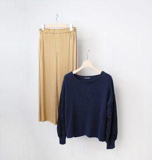芸能人が奥様は、取り扱い注意で着用した衣装パンツ
