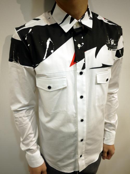 芸能人が行列のできる法律相談所で着用した衣装シャツ / ブラウス