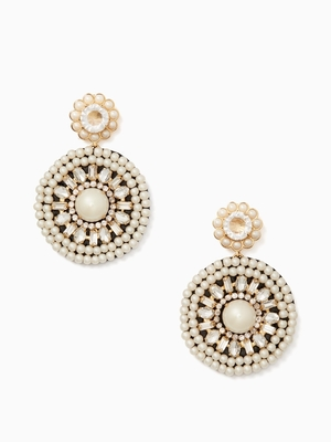 kate spade new yorkのLUMINOUS LEATHER STATEMENT EARRINGS