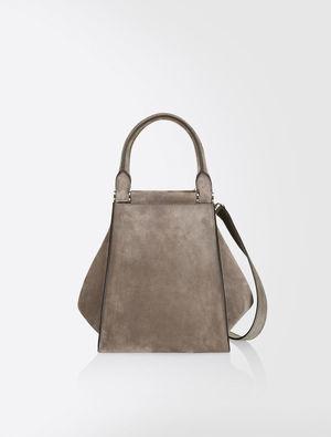 芸能人役柄:知的なお隣さんが奥様は、取り扱い注意で着用した衣装バッグ