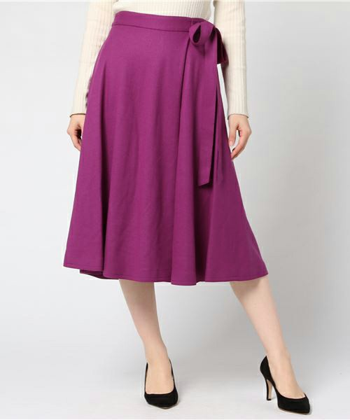 UNIVERVAL MUSEのレーヌ天竺スカート