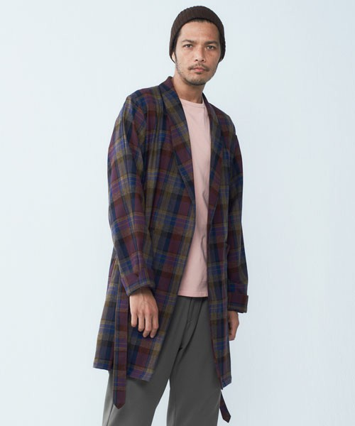 DELUXEのDELUXE X PENDLETON CHECKED GOWN