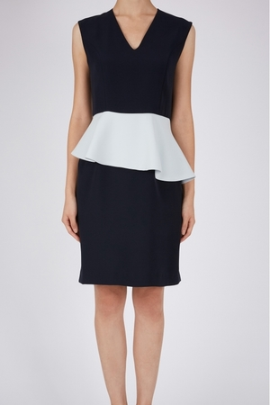 YOKO CHANのAsymmetric Peplum Dress