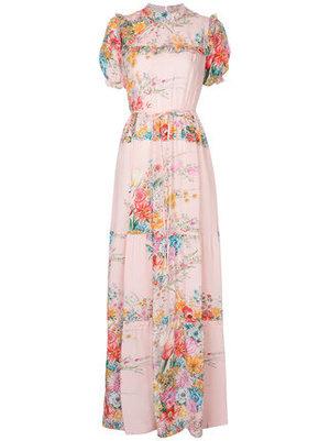 芸能人がおしゃれイズムで着用した衣装花柄ワンピース