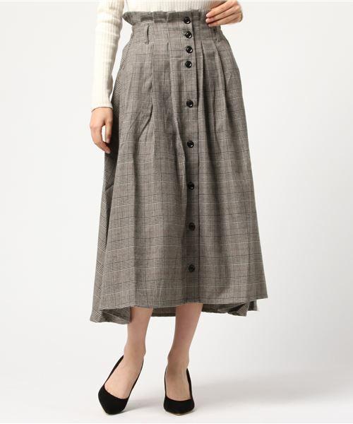 芸能人がめざましテレビで着用した衣装ニット、スカート