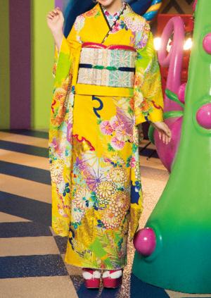 芸能人がヒルナンデス!で着用した衣装振袖