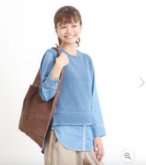 芸能人が越後純情刑事・早乙女真子で着用した衣装シャツ / ブラウス