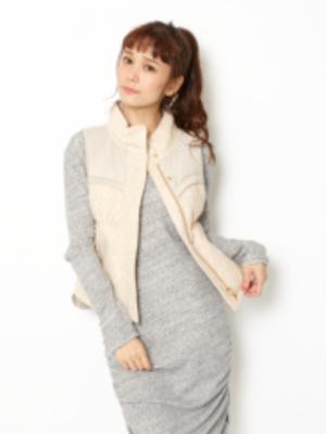 芸能人吉高由里子がめざましどようびで着用した衣装ワンピース/ワンピース