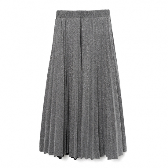 SAAAGE boutiqueのラメプリーツスカート