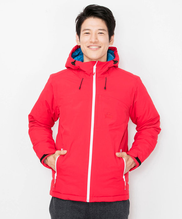 CHUMSのAlpine Party Down Jacket