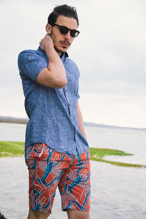 芸能人ボクちゃんがコンフィデンスマンJPで着用した衣装ショートパンツ