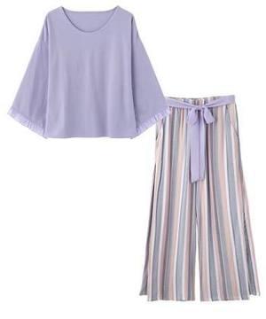 芸能人南さやか・アラサー女子がラブリランで着用した衣装ルームウェア