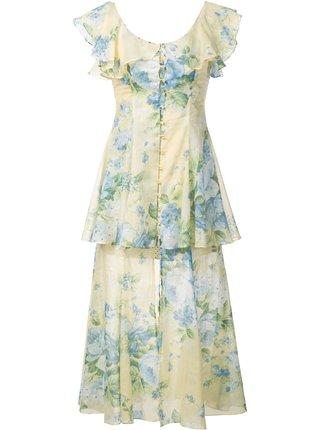 芸能人が笑ってコラえて!桜満開SPで着用した衣装ワンピース