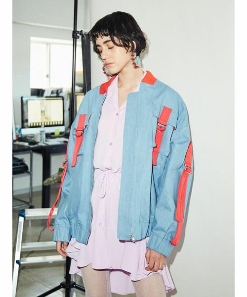 芸能人がにじいろジーンで着用した衣装アウター
