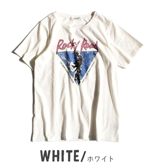 芸能人木崎瑠美・看護学生がいつまでも白い羽根で着用した衣装Tシャツ