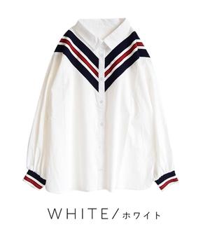 芸能人山田千夏・看護学生で瑠美の友人がいつまでも白い羽根で着用した衣装シャツ