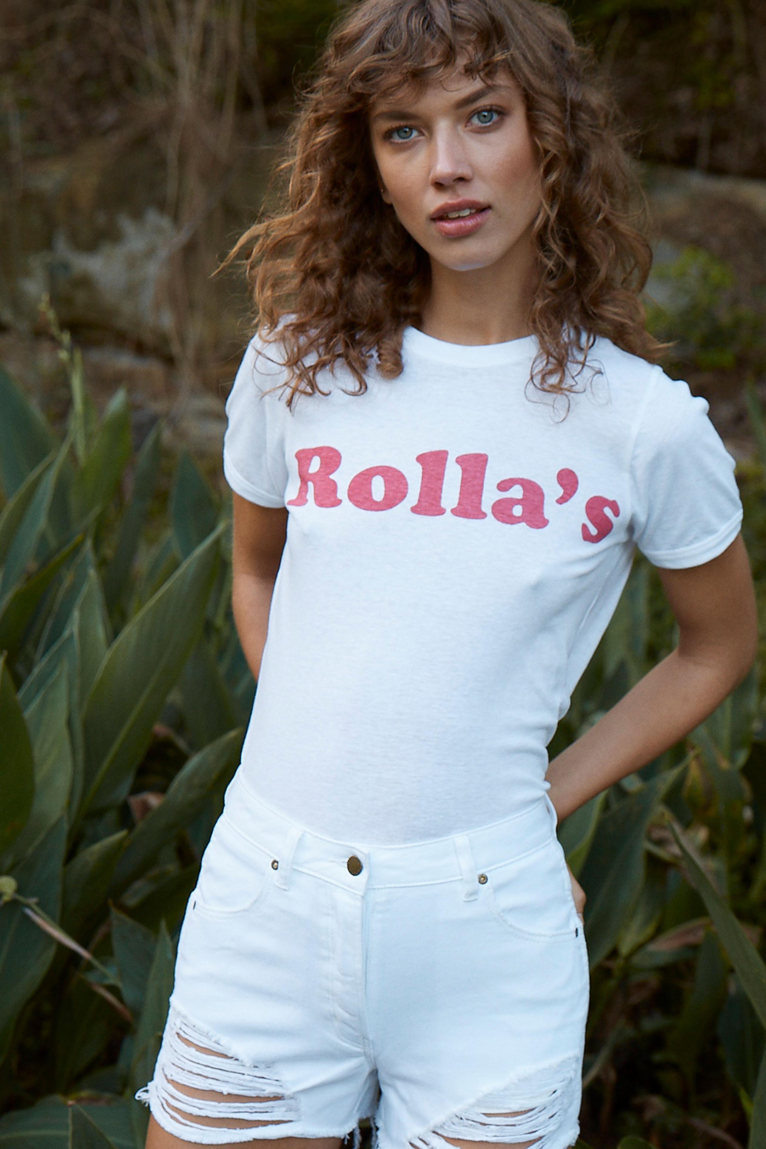 ROLA'SのMIRROR LOGO TEE