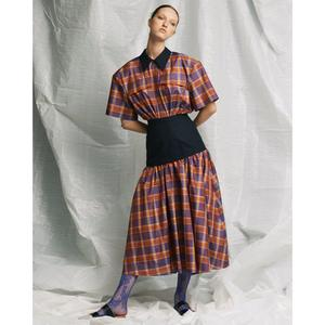 芸能人がヒルナンデスで着用した衣装チェックの服